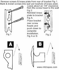 Wall Sconce Installation Decorative Scarfholders Swagholders And Sconces Easy Installation