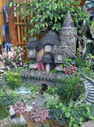 Ideas For A Fairy Garden by Fairy Garden Ideas Little Castle Different Plants To Include Into
