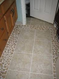 tile bathroom floor ideas broken tile floors shell broken tile and glass bead mirror