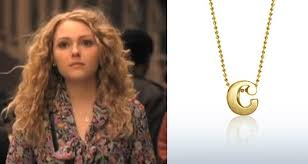 carrie necklace gold carrie diaries the new carrie necklace on screen style