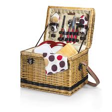 picnic basket set for 2 yellowstone picnic basket moka picnic time family of brands