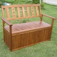Garden Bench With Storage - garden storage benches in stock now greenfingers com