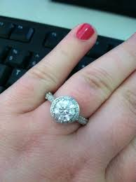 size 9 ring calling all ring size 8 9 with a 7mm cushion cut with a halo