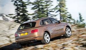 bentley bentayga w12 2016 review by car magazine