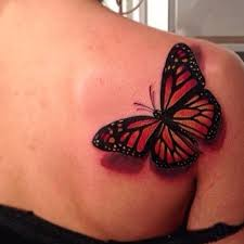 s lovely shoulder butterfly tattoomagz