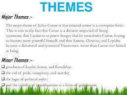 themes in julius caesar quotes julius caesar ppt