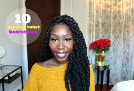 marley hairstyles how to 10 easy marley twist hairstyles youtube