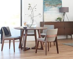 round table and chairs from dania condo pinterest rounding scandinavian designs the cress round dining table will nurture your inner perfectionist with its equal focus on angles and curves