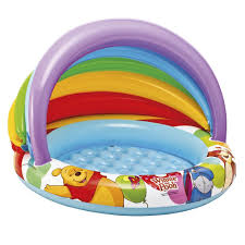 Intex Inflatable Pool Inflatable Disney Baby Pool With Winnie Covered 102 X 69 Cm 57424
