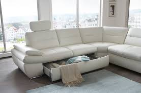salzburg sectional sleeper sofa white leather buy online at best