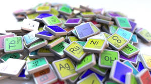 Blocks On The Periodic Table Krypton Kr Block On The Pile Of Periodic Table Of The Chemical