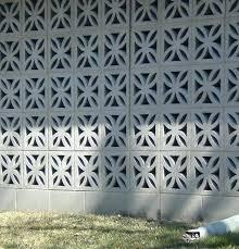 decorative concrete wall blocks beautiful modern screen rectangle