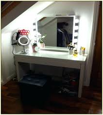 makeup vanity table with lighted mirror ikea vanity mirror ikea the most furniture fabulous makeup mirror wall