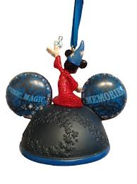 disney ears hat ornament 2016 sorcerer mickey mouse light up