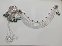 peacock design silver payal bansi ornaments bansi new shakti