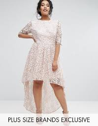 chi chi london high low dress chi chi london plus cutwork lace