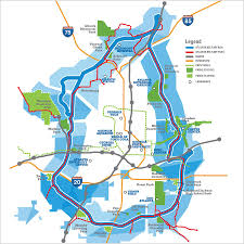 Marta Train Map Atlanta Atlanta Map Etsy Central Perimeter Mega Project Boom The Biz Beat