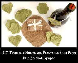 plantable paper diy tutorial plantable seed paper with on
