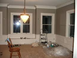 paint ideas for rooms with dark wood trim high ceilings