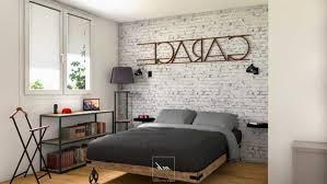 chambre style industriel decoration chambre style galerie et enchanteur chambre style