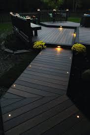 led landscape lighting kits deck step lighting solar low voltage