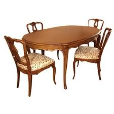 French Provincial Table French Provincial Dining Table And Chairs Vandm Com Polyvore