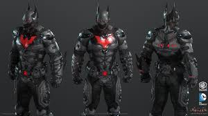 batman beyond artstation batman arkham knight skin batman beyond game model