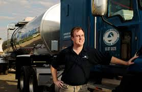 Fuel Truck Driver Drivers Ride High On Trucking Boom Wsj