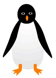 penguin sketch clipart 11cm this clipart drawing has been u2026 flickr
