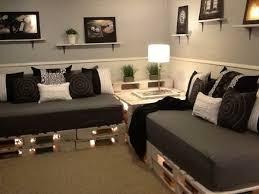 sofa paletten sofa aus paletten eine perfekte vollendung des interieurs