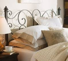 Pottery Barn Iron Bed Should You Choose Metal Sleigh Bed Modern Wall Sconces And Bed Ideas