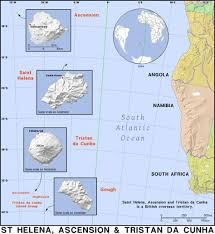 ascension islands map map of ascension island ascension island