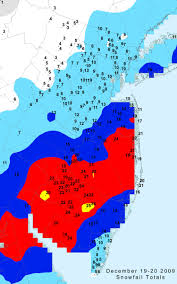 Snowfall Totals Map Office Of The New Jersey State Climatologist