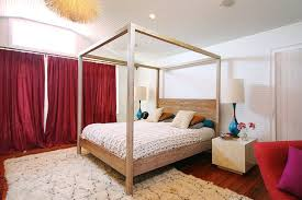 Modern Canopy Bed Get The Look Modern Canopy Bed Apartment Therapy