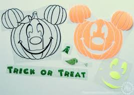 free halloween svg mickey halloween trick or treat bag with free cut file the