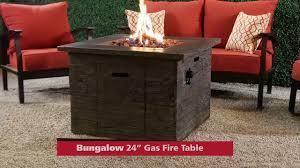 bungalow 24 u201d gas fire table on vimeo