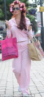 husband forced to sleep in hair rollers essex girl goes scousewife amy childs sports hair rollers as she