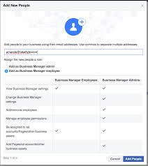 How To Do A Business Email by How Do I Set Up Facebook Ad Manager Accounts For Clients