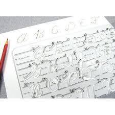 templates for handwriting cursive handwriting templates transitional uppercase sr 7681