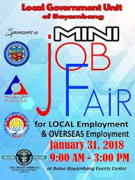 bureau vall dole dole offers 5 000 vacancies in dagupan bayambang fairs