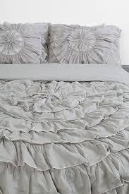 Grey Bedspread Bedroom Grey Ruffle Bedding Beige Ruffle Bedding Ruffle Comforter