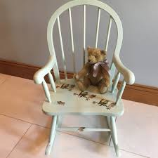 Paint Shabby Chic Furniture by Shabby Chic Furniture Small Kids Rocking Chair Painted Laurel