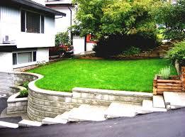 landscape a simple minimalist sloping backyard easy loversiq