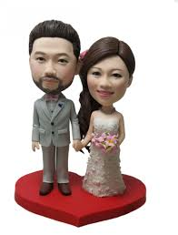 custom wedding cake toppers unique wedding cake topper personalized customm polymer clay