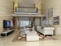 brilliant home design living room on duplex house stairs dining