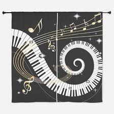 Curtains Music Music Window Curtains U0026 Drapes Music Curtains For Any Room