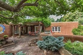 original santa fe style adobe home new mexico luxury homes