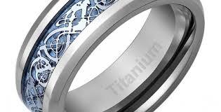 titanium wedding bands reviews ring striking titan lovable titanium wedding bands wood inlay