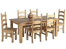rectangular pine dining table excellent ideas pine dining table set product brand rustic plank
