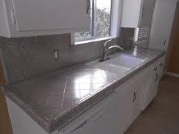 kitchen grey countertop resurfacing design ideas with glass